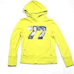 Garcia Hoodie Yellow Youth Size 14